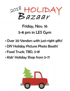 Annual Holiday Bazaar